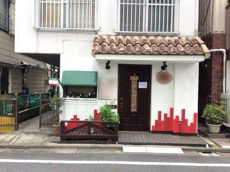 亀有駅北口・T字路突き当りの路面イタリアン居抜き物件!イメージ画像1