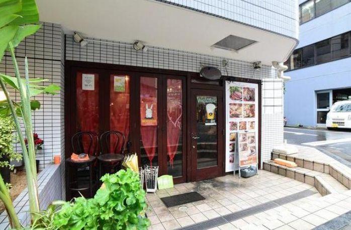小伝馬町駅徒歩1分・オフィス街につきランチ需要有り!1階路面角地、間口広く視認性の良いカフェ居抜き☆イメージ