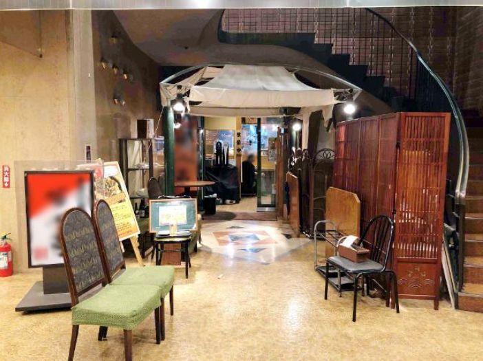 オフィスビル地下1階飲食店街内・居酒屋居抜き!開発が進み注目の虎ノ門です!イメージ