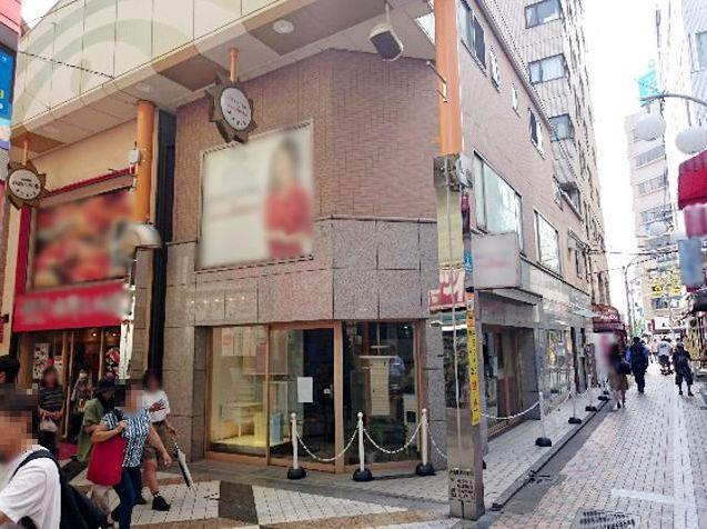 中野サンモール商店街、視認性抜群の1階路面角地☆自由度の高いスケルトン物件♪常に人通りがあり昼夜問わず需要あります!イメージ画像1