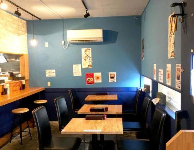 視認性抜群・第二京浜沿い1階路面店舗☆鮮やかなブルーの壁がおしゃれなラーメン店居抜き!イメージ画像1