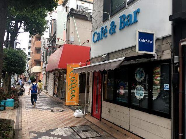 飲食店立ち並ぶ蔵前橋通り沿い・大きな看板で視認性抜群の1~2階貸し店舗!カフェバー居抜き◎イメージ