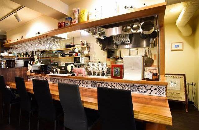 生活導線上に位置する1階路面店舗・オープンキッチンがお洒落な飲食店居抜き!清潔感のあるこだわりの内装が◎イメージ画像1