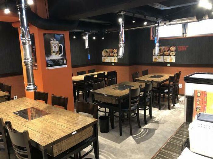 大久保通り至近・設備充実の1階韓国料理店居抜き♪同業態ご希望の方おすすめです!イメージ