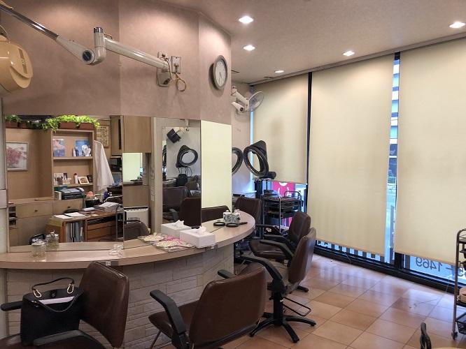 四ツ谷駅から徒歩5分!、新宿通り沿いに面した視認性の良い美容室居抜き物件です!イメージ画像1
