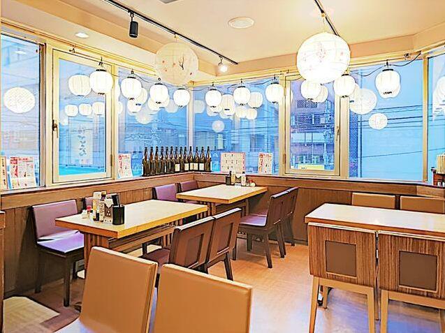 飲食店多数エリア・西口通り商店街2階、ガラス張りで明るい店内の射抜き店舗☆イメージ画像1