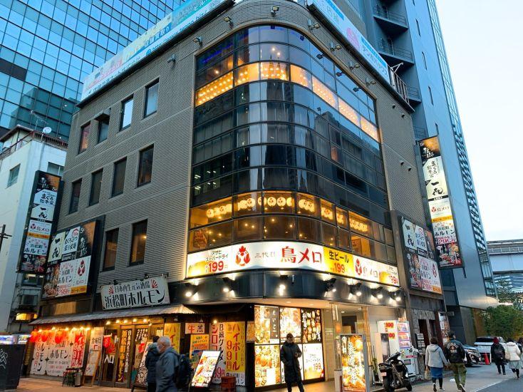 浜松町駅徒歩2分・満席見込めるビジネス街立地の居酒屋居抜き!窓面広く開放感◎でランチ営業もオススメです!♪イメージ